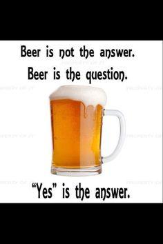 Nunca esta de mas una cerveza!