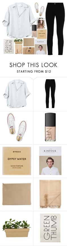 """""""✨like that tattoo on your sholder✨"""" by grunge-alien ❤ liked on Polyvore featuring STELLA McCARTNEY, Converse, NARS Cosmetics, Byredo, Poketo, Arts & Science, Armand Diradourian and Sir/Madam"""