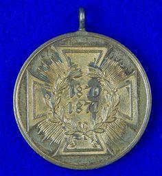 German Germany 19 Century 1871 Medal Order Badge Military Awards, 19th Century, Badge, Germany, Deutsch, Badges