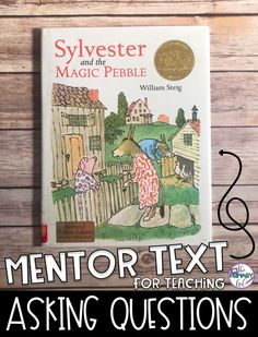 This book is an awesome mentor text to show students how good readers ask questions. This text would be used to do a read aloud / think aloud. Teachers model how good readers ask questions before, during, and after reading a text. Reading Lessons, Reading Strategies, Reading Skills, Guided Reading, Teaching Reading, Reading Comprehension, Reading Logs, Teaching Ideas, Learning