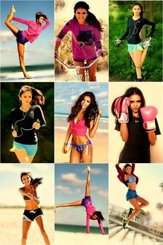 Nina Dobrev has a fantastic (and healthy) body! You can have one to!
