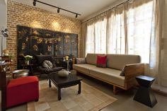 Casa Itaim  Sala de Estar Projeto - Leandro Cerny - Colaboração - Enzo Sobocinski Arquitetura