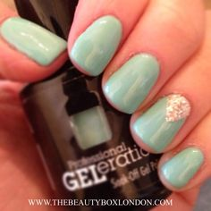 Jessica GELeration in Surfer Boyz 'N' Berry created at The Beauty Box