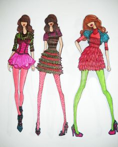 My fashion sketches