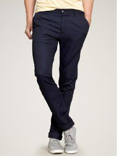 """Gap """"Slim Trouser"""" Un-Pleated Pant.......I need to try these out."""