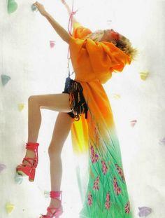 Stunning colourful fashion photography |