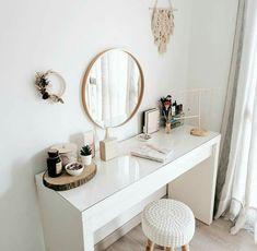 Cute Bedroom Decor, Bedroom Decor For Teen Girls, Room Design Bedroom, Stylish Bedroom, Small Room Bedroom, Room Ideas Bedroom, Home Room Design, Beauty Room Decor, Study Room Decor