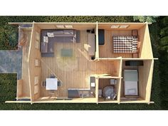 Log Cabins Residential Buildings and Garden Offices   Residential Log Cabin 308 - 5.5m x 9.5m - Residential Cabins   Somerset UK   Full Range Of Log Cabins