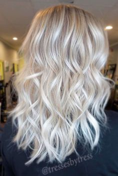 Hair Color 2017/ 2018 Try platinum blonde hair shade if you want to stand out from the crowd. This col