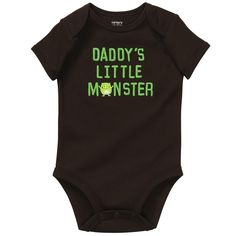 daddy's little monster. #carters