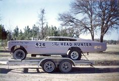 Vintage Drag Racing - Funny Car - The Head Hunter chopped Charger