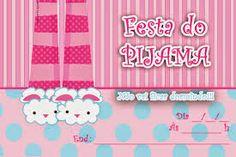 festa do pijama convite capricho - Pesquisa Google