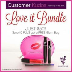 OK GUYS!!!!!!.....a much discounted sale price for you to purchase for your lovely lady... Only $50.00 for ALL OF THESE PRODUCTS plus this vibrant pink little make up bag. SOoooooo COOL. You can't beat this price at all.   $50.00 for the 3D fiber lash, eyeliner lip gloss and make up bag  www.youniqueproducts.com/vondakayjohnson