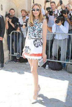 The Olivia Palermo Lookbook : Paris Couture Week 2015 : Olivia Palermo at Dior