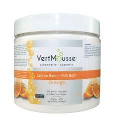Lait de bain Orange - Ingredients: Caprae Lac (Goat Milk/ Lait de chèvre), Lac…