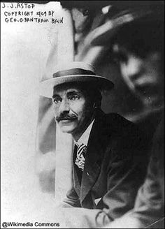 John Jacob Astor IV in 1909. He and his wife were the wealthiest passengers aboard the Titanic. He did not survive.      msn.com