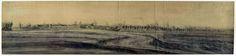 1672-Gezicht op Culemborg, frères Moreau, Adam Frans van der Meulen 1900 - 1903.