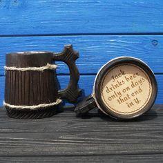 Funny Wooden Beer Mug, Groomsman Gift, Groomsmen Gift, Grooms Gift, Personalized Wedding Gift