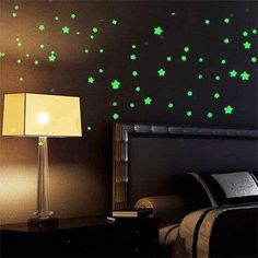 2 Pack - Twinkle Star Wall Stickers