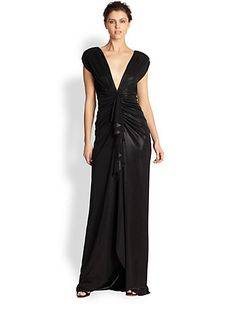 From Saks Fifth Avenue Abs D Gown Black Bridesmaid Dresses Wedding Evening