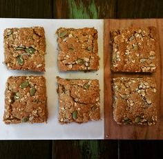 Thermotwinning: thermomix 30 second lunchbox oat slice Healthy Slice, Healthy Snacks, Healthy Recipes, Healthy Mummy, Healthy Bars, Fodmap Recipes, Bellini Recipe, Lunch Box Recipes, Lunchbox Ideas
