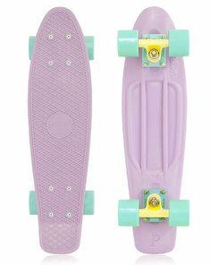 Penny+Skateboards+Pastels+Pastel+Series+Lilac+Mint+Cruiser+Board+Skateboard+22