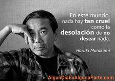 Buenas Noches. #AlgunDiaEnAlgunaParte #HarukiMurakami #citas