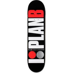 The Team OG skate deck from Plan B has a good shape and tons of pop no matter what type of terrain you skate. Tested and designed by Plan B pros Tory Pudwill, Paul Rodriguez, Ryan Sheckler, PJ Ladd, and more. With a 7.75 width and 7ply construction the Play B Team OG deck is just right for all day skate sessions at the park, in the streets, or just in your driveway.