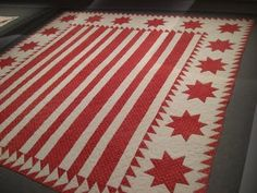 Selvage Blog: Red and White quilts