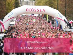 Courses 2015 - Odyssea -Cancer du sein - Octobre Rose