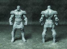 Colossus Phoenix 3D print (WIP), Rodrigue Pralier on ArtStation at https://www.artstation.com/artwork/0BPWV