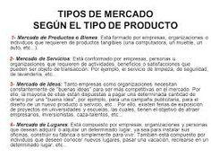 Clasificacion del mercado segun el tipo de cliente