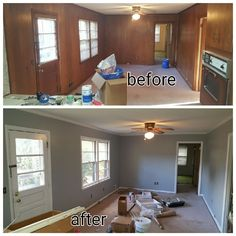 Primed And Painted Wood Paneling In Columbia Sc 2016