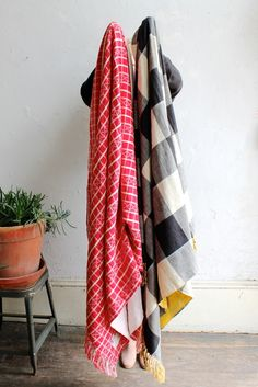 Ace & Jig Big Top and Domino Throw Blankets   Vagabond Boutique