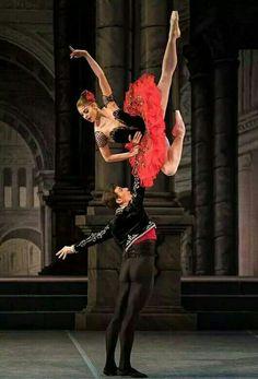 "Ballet - ""Don Quixote"" Tutu Ballet, Ballet Art, Ballerina Dancing, Ballet Dancers, Shall We Dance, Lets Dance, Ballet Lifts, Russian Ballet, Ballet Photography"