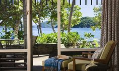 Caneel Bay's beachfront rooms are just a few steps from the beach! You can hear gentle waves at night...