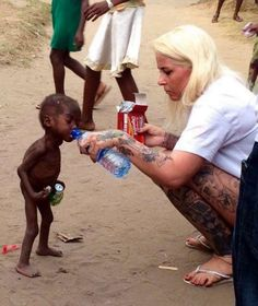 """In Nigeria: Abandoned for being a """"witch"""", a starving boy's photo sparks huge donation, 'over a and counting . Photo Choc, African Children, 2 Year Olds, Faith In Humanity, People Of The World, Atheism, Boys Who, The Magicians, Little Boys"""