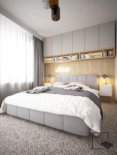 Different Types Bedroom Furniture And How To Make Your Bedroom Beautiful – Home Dcorz Modern Master Bedroom, Modern Bedroom Design, Home Room Design, Small Room Bedroom, Minimalist Bedroom, Home Bedroom, Bedroom Decor, Small Bedroom Storage, Bedroom Closet Design