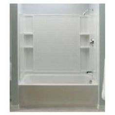 Sterling Plumbing Ensemble Bathtub, Left-Hand, High-Gloss White, 5-Ft.: Model# 71121110-0 | True Value