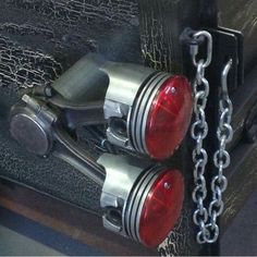 Cool idea for truck lights - Rat Rod. Rat Rod Trucks, Cool Trucks, Chevy Trucks, Cool Cars, Rat Rod Pickup, Truck Flatbeds, Truck Mods, Automotive Decor, Metal Projects