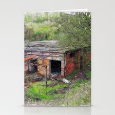 Renovation Required Stationery Cards by F Photography and Digital Art - $12.00