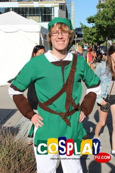 Link Cosplay from The Legend of Zelda at FanExpo Canada