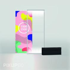 Leuchtwand 1000 x 2500 x 150 mm PIXLIP GO stellt das Roll-Up in den Schatten: Die integrierte Hinterleuchtung verschafft Dir und Deiner Werbung endlich die Aufmerksamkeit, die Ihr Euch verdient habt.