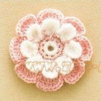 Ondori motif and edging designs Crochet Butterfly, Crochet Flowers, Handmade Flowers, Diy Crochet, Free Pattern, Diy And Crafts, Instagram, Stitch, Knitting