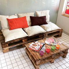 Sofa and mini table!