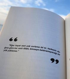 Book Quotes, Words Quotes, Life Quotes, Islamic Prayer, Islamic Quotes, Learn Turkish Language, Galaxy Wallpaper, Meaningful Quotes, True Words