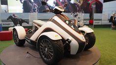 Artega Karo Elektro Quad ATV  -  Exterior Walkaround - Frankfurt Motor S...