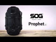SOG Prophet 33 Backpacks - 33L Tactical Duffle Bag - SOG