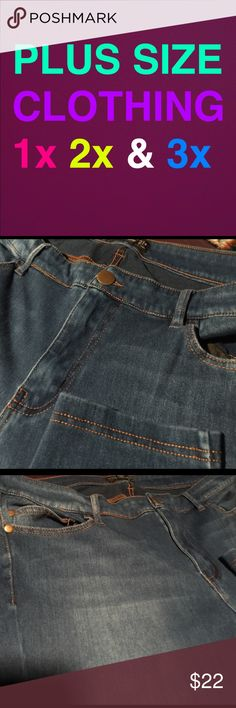 Forever 21 Plus siZe super skinny jeans 18 Most stretchy jeans ive even owned! Super comfortable! Super skinny jeans, in Great condition!! Size 18 from forever 21 plus Forever 21 Jeans Skinny