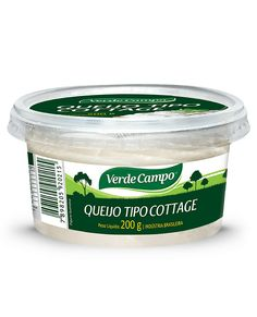 Queijo Cottage - Verde Campo